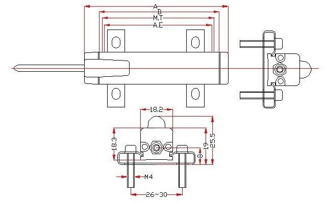 福建直线位移传感器的工作原理:将经过精心修刻好的碳膜PCB板固定在一个金属支架上,将提前设计好大小的电刷固定在高强度的塑胶工件上,让电刷和碳膜PCB板充分接触且电刷能沿着提前设计好的滑动槽平稳滑动,这样就会有连续的成比例的电阻数输出。当然这个比例越接近一个恒定的数,则在输出图像上越呈现出平滑直线。   不能接错直线位移传感器的三条线,1#、3#线是电源线,2#是输出线, 除1#、 3#线电源线可以调换外,2#线只能是输出线。上述线一旦接错,将出现线性误差大,控制精度差,容易显示跳动等现象。如果出现控制