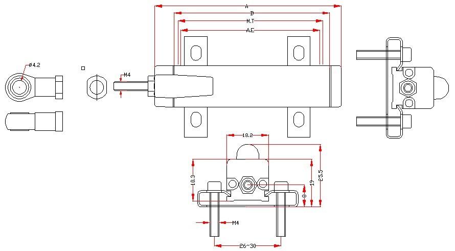 长春直线位移传感器安装及使用方法:拉杆式位移传感器可以任意方向安装,首先将传感器壳体放在参照物(基准)的安装支架孔里,使传感器壳体和被测物移动的方向保持一致,根据传感器的量程,估算大致的间隙,然后用镙母将拉杆和被测物固定起来,通上电源等传感器稳定下来,再慢慢的移动传感器壳体,使传感器的输出零位对应于被测物机械零位,然后将传感器壳体夹紧(不可松动),安装好就可以通过计算机数据采集对被测物的位移进行检测或监测或PLC进行系统控制,回弹式位移传感器和拉杆式位移传感器安装基本相似。   BRSEN博尔森研制了